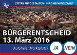 Plakate Bürgerentscheid klein